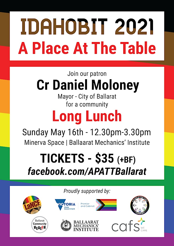 A Place At The Table - Community Long Lunch image
