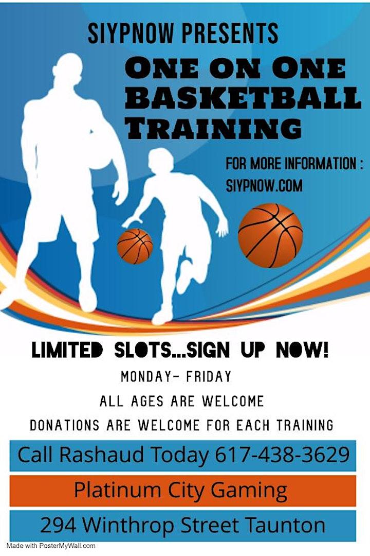 Siypnow Presents One on One Basketball Training image
