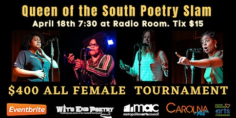 Queen of the South Poetry Slam tickets