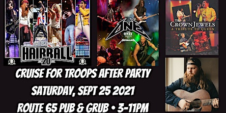 Cruise For Troops After Party Concert feat. Hairball tickets
