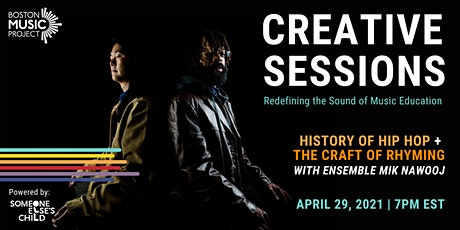 BMP Creative Sessions: History of Hip Hop + the Craft of Rhyming tickets