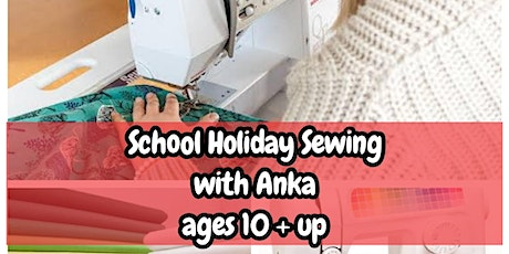 School Holiday Sewing with Anka tickets