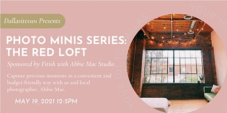 Photo Minis Series: The Red Loft tickets