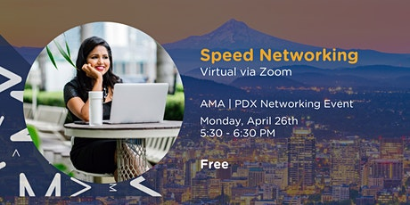 Virtual Speed Networking Happy Hour | AMA PDX tickets