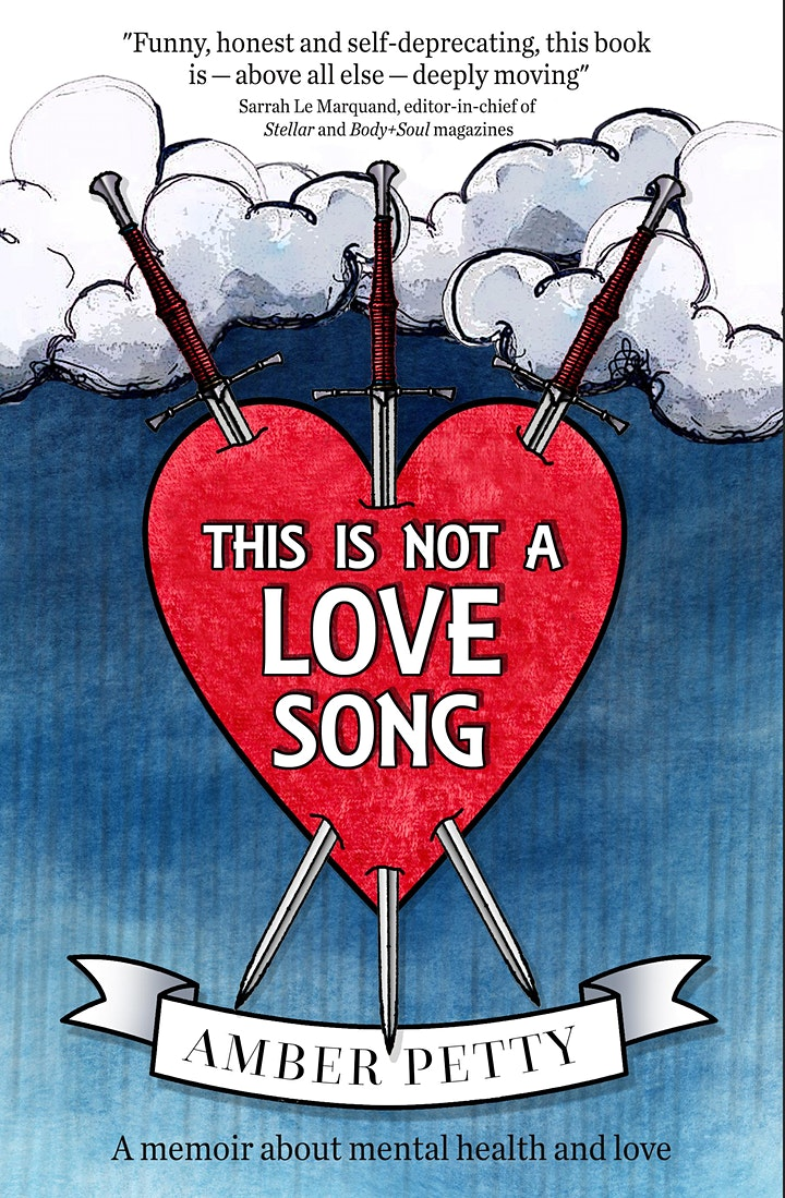 THIS IS NOT A LOVE SONG - book launch. image