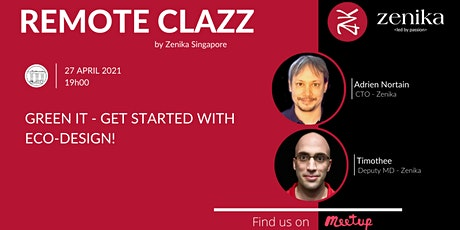 Green IT - Get started with eco-design! | RemoteClazz tickets