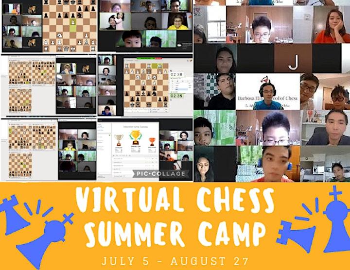 Barbosa Elite School of Chess Virtual Summer Camp 2021 image