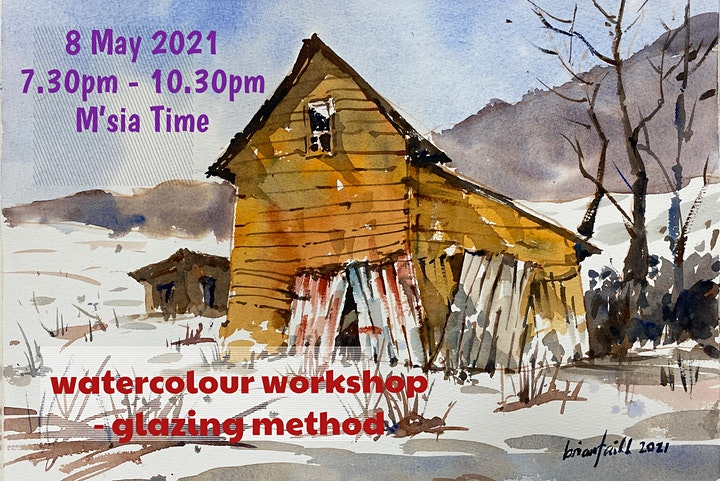 Watercolour Workshop - Glazing Method image