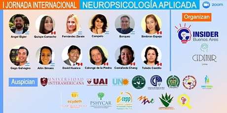 I JORNADA INTERNACIONAL NEUROPSICOLOGÍA APLICADA entradas