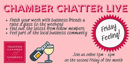 Chamber Chatter LIVE - Friday Feeling relaxed networking tickets