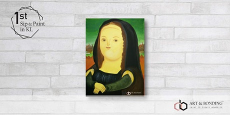 Sip & Paint Night : Mona Lisa by Fernando Botero tickets