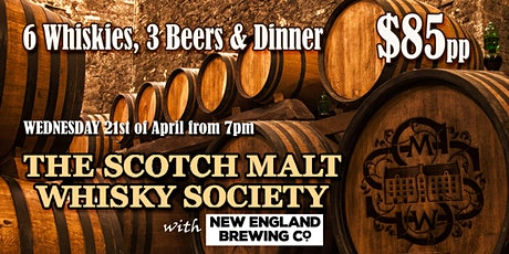 Scotch Malt Whisky Society at Websters Bar tickets