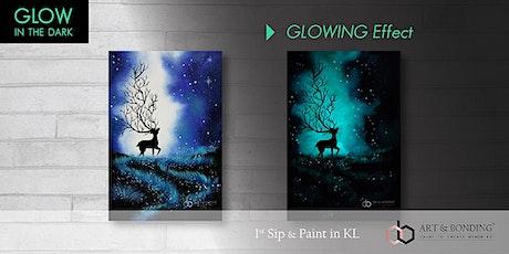 Glow Sip & Paint : Glow - Galaxy Deer tickets