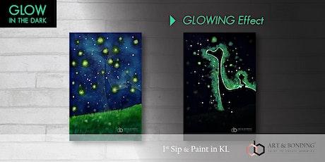 Glow Sip & Paint : Glow - Dino Dream tickets