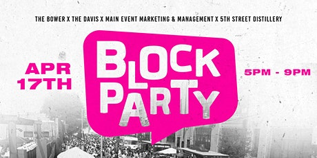 The Spring Fling Block Party tickets