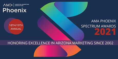AMA Phoenix 2021 Spectrum Awards → PAYMENT: CAMPAIGN ENTRY SUBMISSIONS tickets