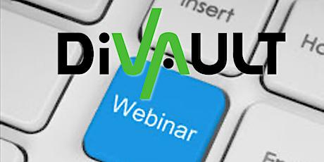 Webinar DiVault Videotulen tickets
