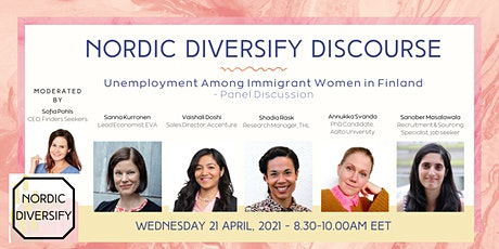 Nordic Diversify Discourse - Unemployment Among Immigrant Women in Finland tickets