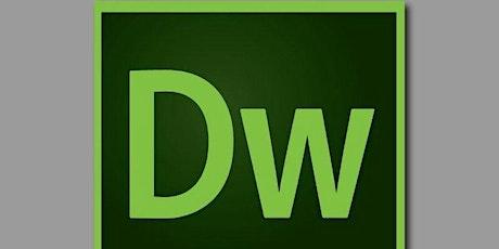 Virtual Adobe Dreamweaver Summer Camp Week of July 19 - 22, 2021Cost:$19.99 tickets