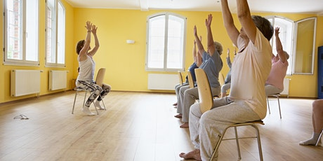 Chair Yoga sessions (all customers, ages 50+) tickets