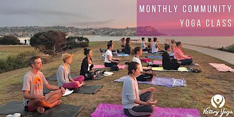 Community Sunrise Yoga Class (free) tickets