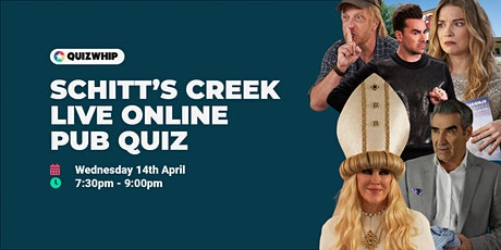 Schitt's Creek - Live Online Pub Quiz tickets