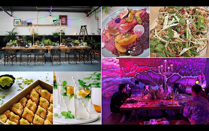Digital Dining - Mezes, Tajines, Baklavas and Mint Teas image