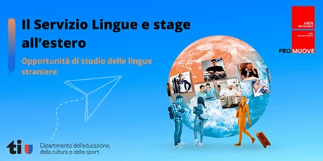 Consulenza Lingue e stage all'estero tickets