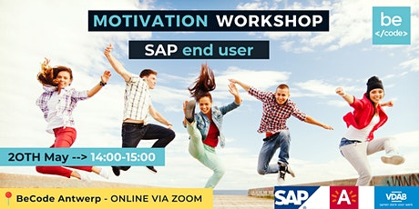 BeCode Antwerp - SAP End User - Motivation Workshop tickets