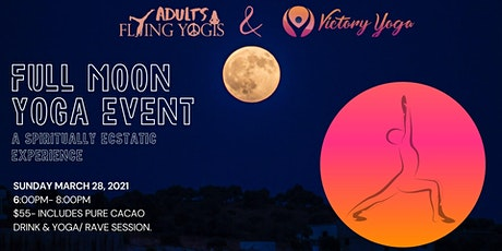 Full Moon Ecstatic Yoga & Cacao Ceremony tickets