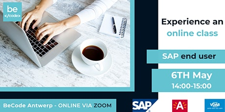BeCode Antwerp - SAP End User - Trial Online Class tickets