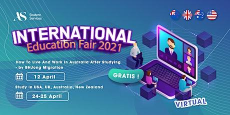 International Education Fair 2021 tickets