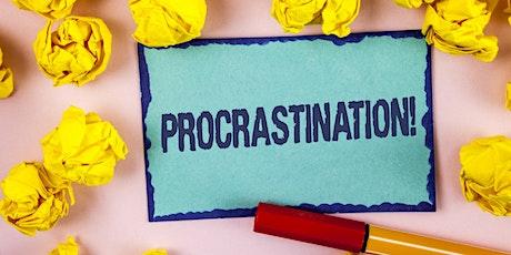 Pushing through Procrastination Workshop tickets
