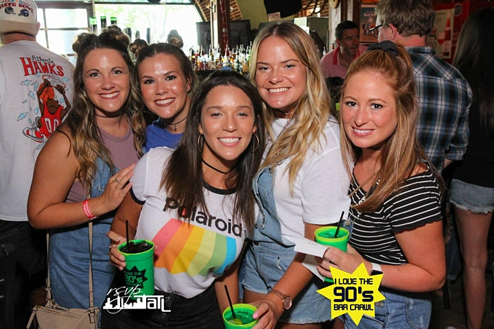 I Love the 90's Bash Bar Crawl - Louisville image