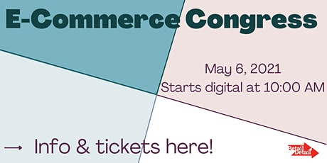 RetailDetail E-Commerce Congress 2021 tickets