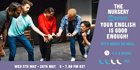 Online Improv Super-Elective: Your English is good enough! tickets