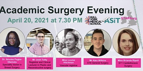 Hull York Medical School STARSurg x ASIT Academic Surgery Evening tickets