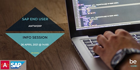 BeCode Antwerp - SAP End User - Info Session tickets