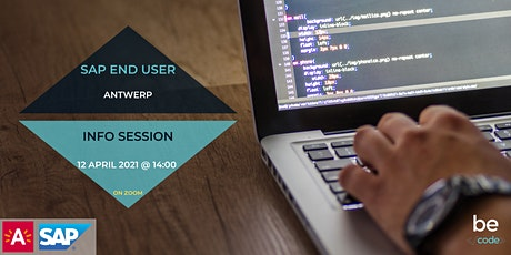 BeCode Antwerp - SAP Consultant & End User - Info Session tickets