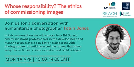 Whose responsibility? The ethics of commissioning images tickets