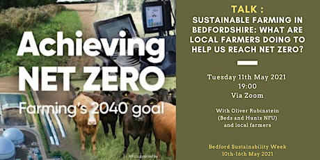 BSW: Sustainable farming in Bedfordshire tickets