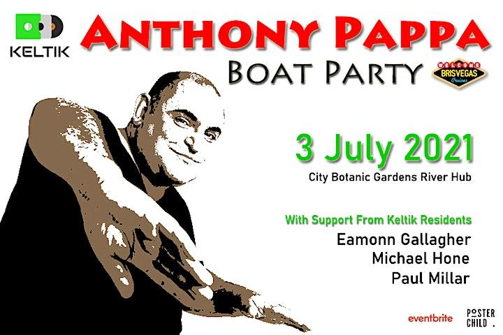 "KeltiK Presents ""Anthony Pappa"" Boat Party image"