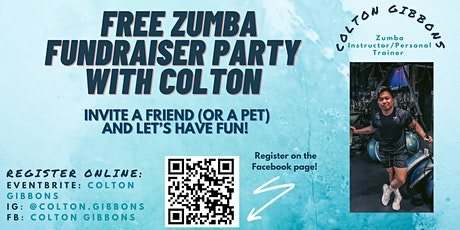 Zumba  W/ Colton x Trans Maryland Party Fundraiser tickets