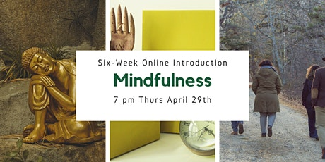 A Six Week Online Introduction to Mindfulness tickets