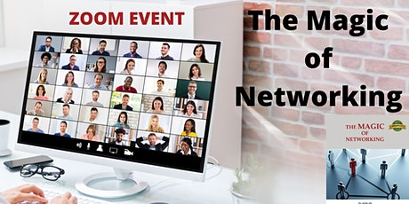 The Magic of Networking Book Launch (Zoom Event) tickets