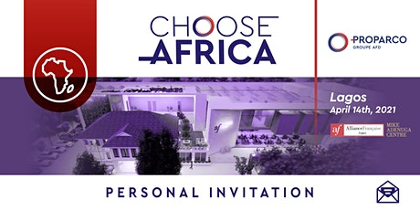 """Presentation of the French initiative """"Choose Africa"""" tickets"""