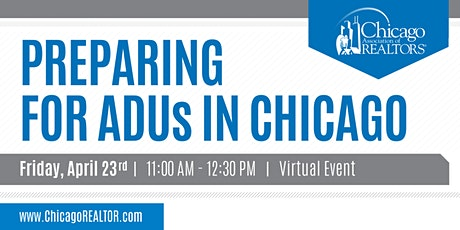 Preparing for ADUs in Chicago tickets