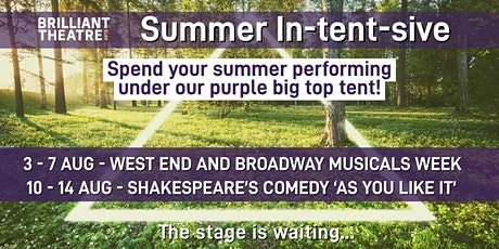 Brilliant Theatre Arts Summer In-tent-sive Performance Projects tickets
