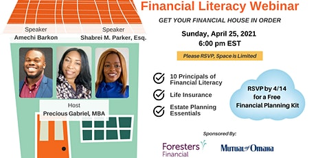 Financial Literacy Webinar: Get Your Financial House in Order tickets