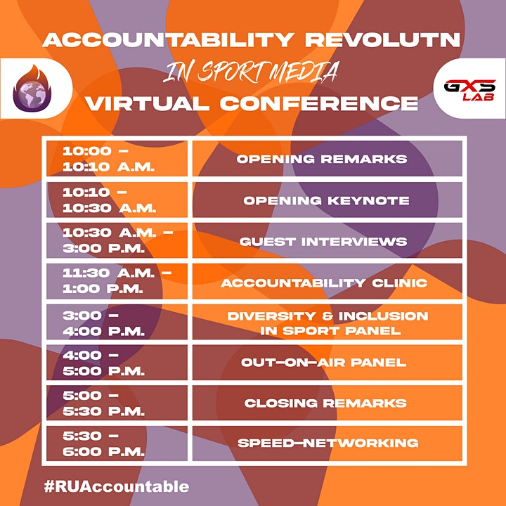 GXSLab Presents Accountability Revolution in Sport Media Virtual Conference image